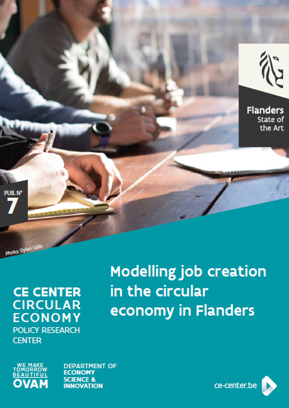 7. Modelling job creation in the circular economy in Flanders
